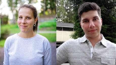 Öppna YH gav Daniela och Niklas en chans att pröva på högskolestudier
