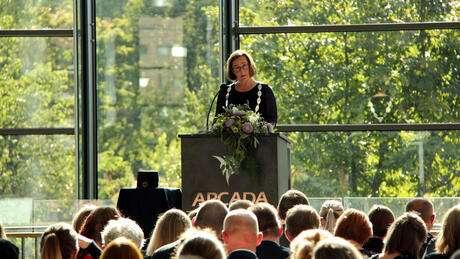 Arcada öppnade det nya läsåret med hållbarhet som ledord