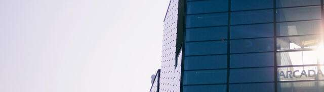 Fönster på Arcada